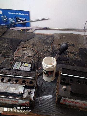Compro Bateria Usada de carro - Foto 3