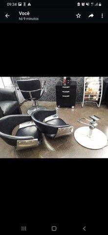 Cadeira cabeleireiro  - Foto 3