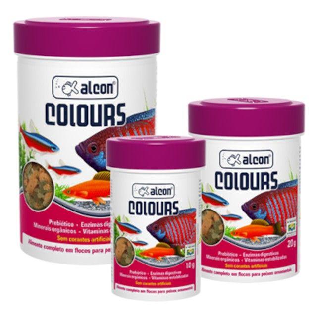 Ração Para Peixes Ornamentais Alcon Colours 20g