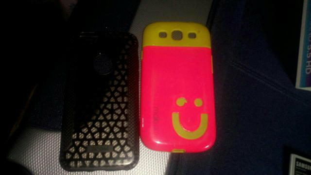 Capinha de iphone/galaxy s3
