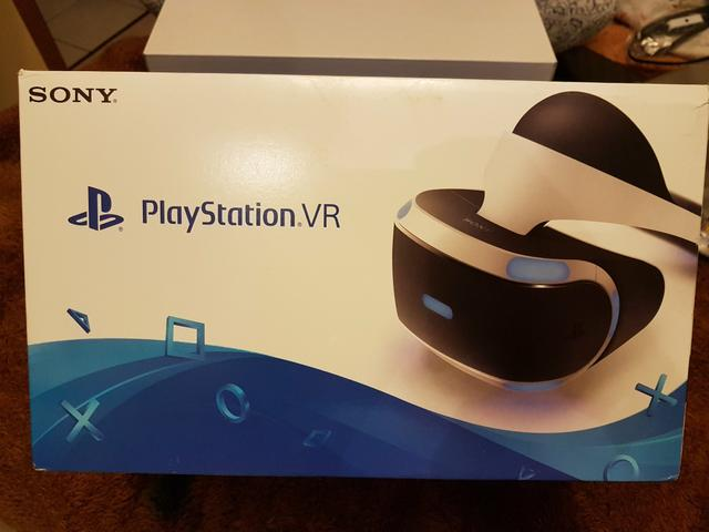 PlayStation VR lacrado