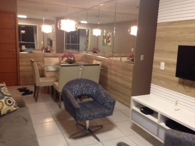 Apartamento 3/4 em Dix Sept Rosado