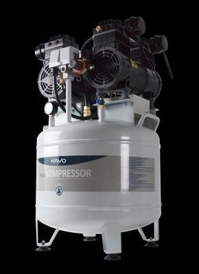 Compressor Kavo 2HP Isento de Òleo 2,5 anos de uso