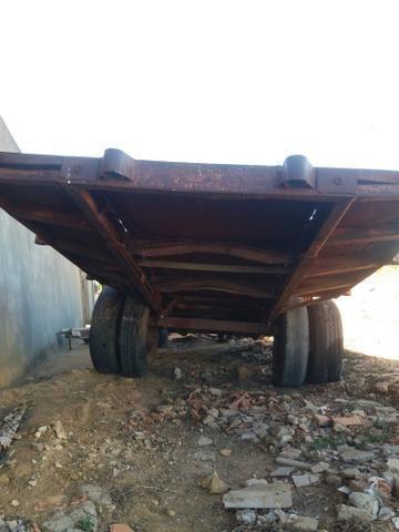 Carretao agrícola 6.10 metros penel duplo - Foto 2
