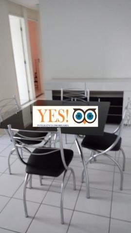 Apartamento mobiliado para locação, muchila, feira de santana, 3 dormitórios sendo 1 suíte - Foto 2