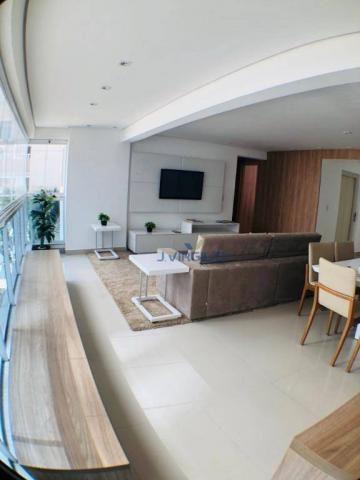 Apartamento com 3 suítes à venda, 117 m² por r$ 620.000 - jardim goiás - goiânia/go - Foto 8