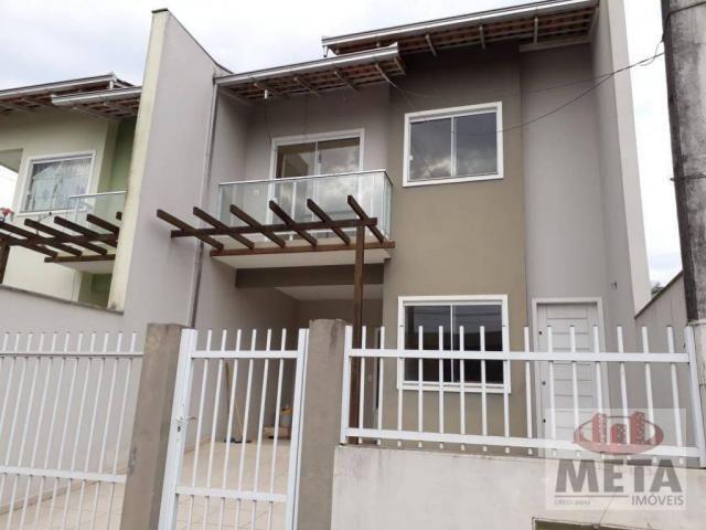 Sobrado com 3 dormitórios à venda, 96 m² por R$ 265.000 - João Costa - Joinville/SC