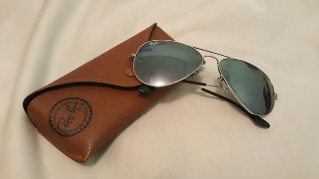 Óculos Ray-Ban aviator feminino original, com estojo.