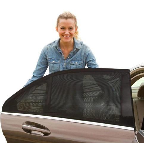 Cortina para vidro traseiro do carro - Foto 4