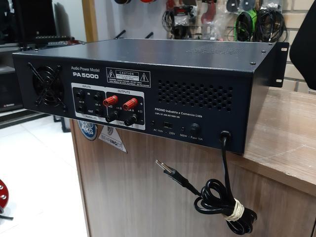 Amplificador 500rms voxman novissimo - Foto 6