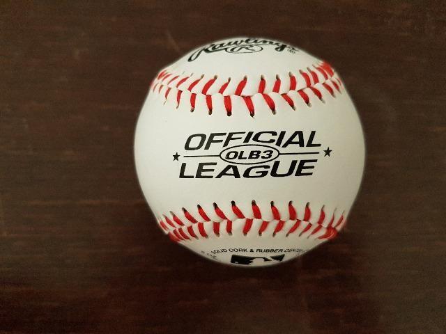 Bola de baseball original OLB3 - Rawlings - Foto 2