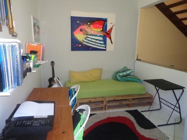 Casa 3/4 e gabinete, vista mar Jaguaribe - Foto 11