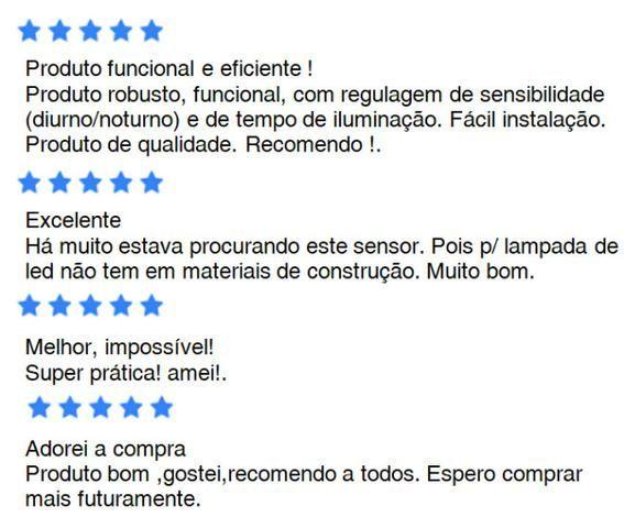 Sensor Presença x 12x R$ 6,00 x Entrega Grátis x Garantia 3 m - Foto 3