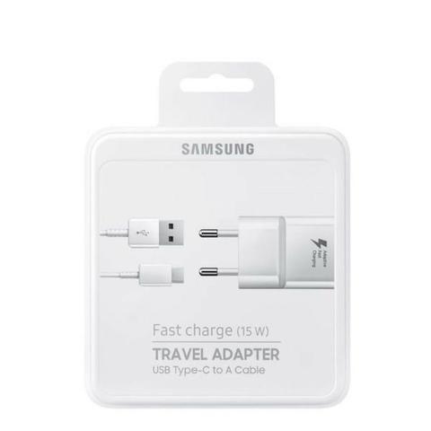 Carregador Original Samsung Turbo Ta20b C/ Nfe-(Loja na Cohab)-01 Ano de Garantia