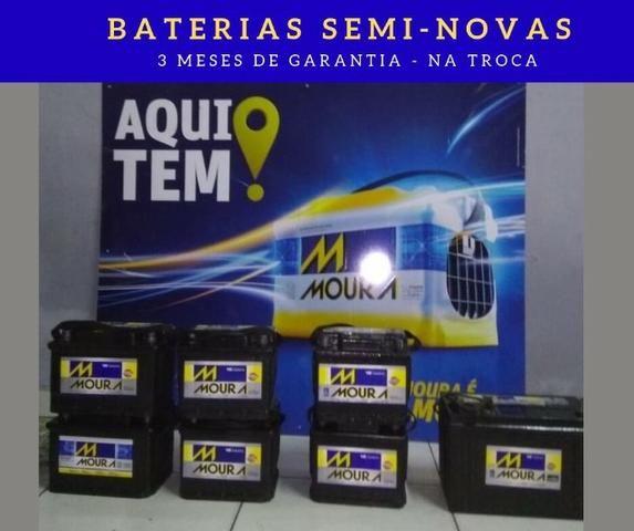 Baterias Semi-novas - Diversos modelos