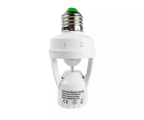 Sensor Presença x 12x R$ 6,00 x Entrega Grátis x Garantia 3 m - Foto 2