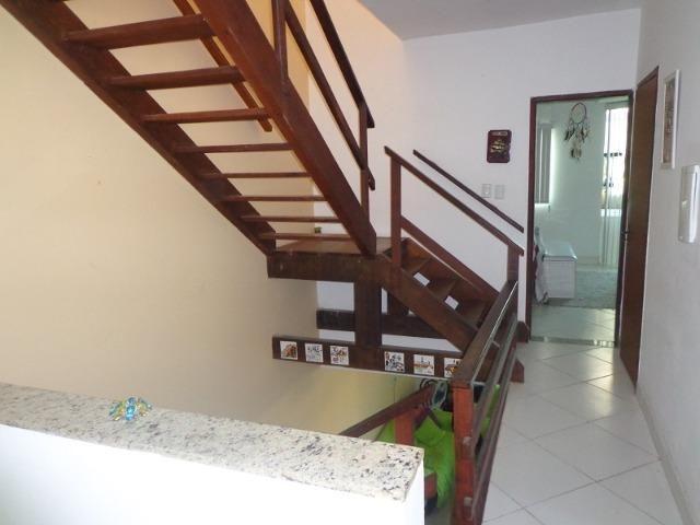 Casa 3/4 e gabinete, vista mar Jaguaribe - Foto 12