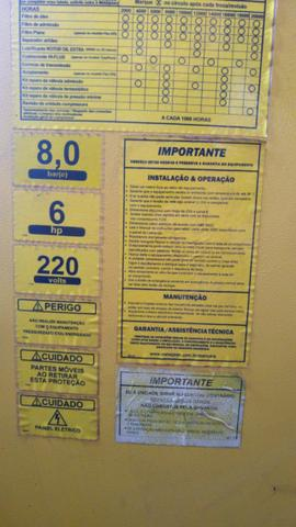 Compressor Parafuso Metalplan 6 Hp - Foto 4