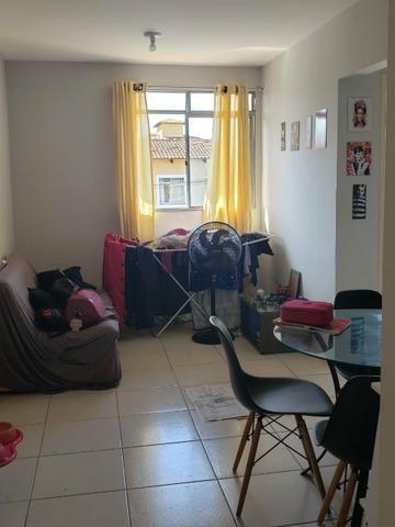 Alugo Apartamento 45m2, sala, 2/4, cozinha/lavanderia, banheiro - Foto 3