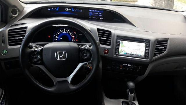 Honda Civic EXS Automatico Top de Linha + Teto Solar 2012 - Foto 8