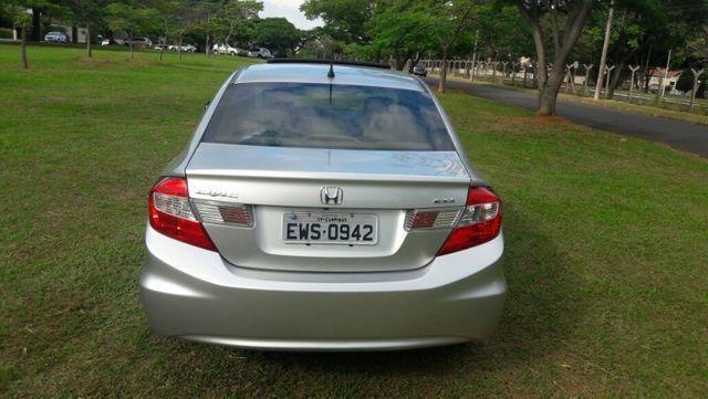 Honda Civic EXS Automatico Top de Linha + Teto Solar 2012 - Foto 3