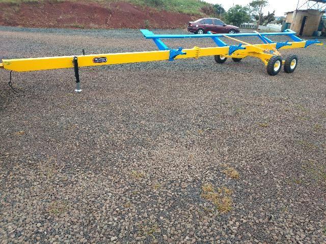 Carreto Transportador Plataforma Colheitadeira - Foto 3