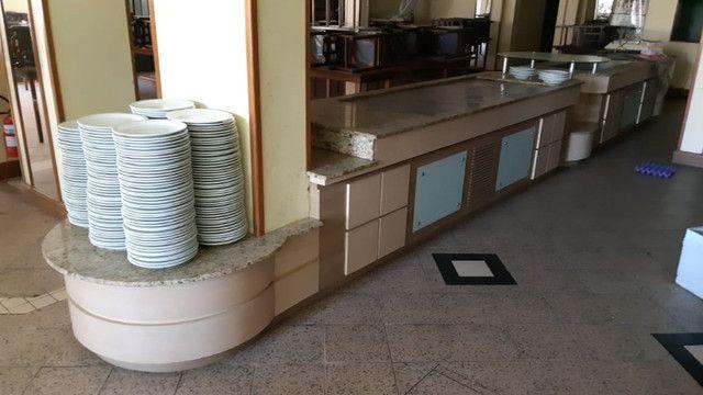Conjunto Balcões de Buffet de Madeira quente e frio - Foto 4