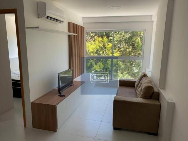Apartamento com 1 dormitório para alugar, 31 m² por R$ 2.100,00/mês - Graças - Recife/PE - Foto 3