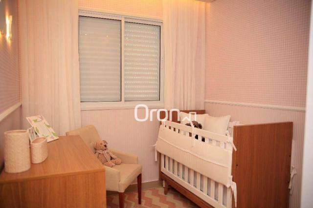Apartamento com 3 dormitórios à venda, 94 m² por R$ 451.000,00 - Jardim Atlântico - Goiâni - Foto 11