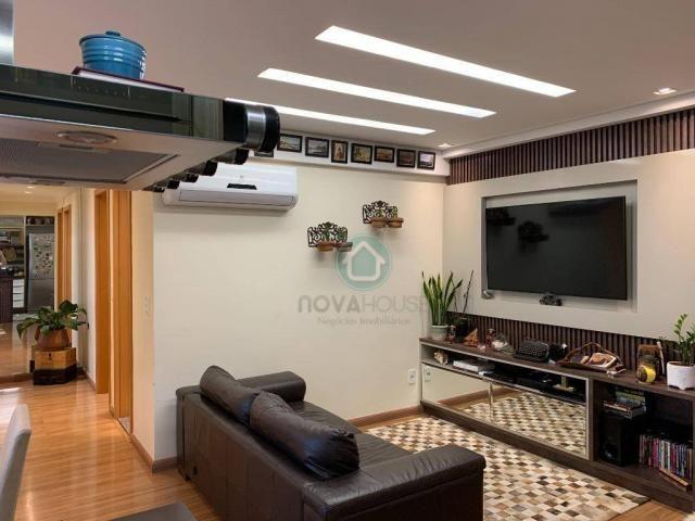 Apartamento com 3 dormitórios à venda, 73 m² por R$ 545.000,00 - Monte Castelo - Campo Gra