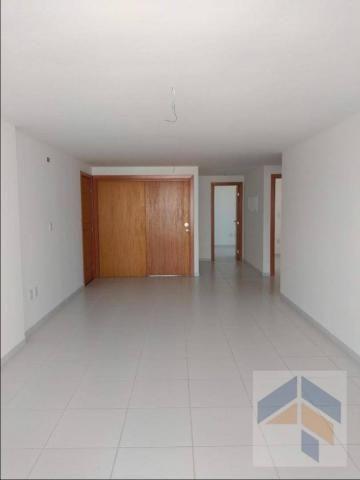 Apartamento com 3 dormitórios à venda, 112 m² por R$ 485.000,00 - Bessa - João Pessoa/PB - Foto 6