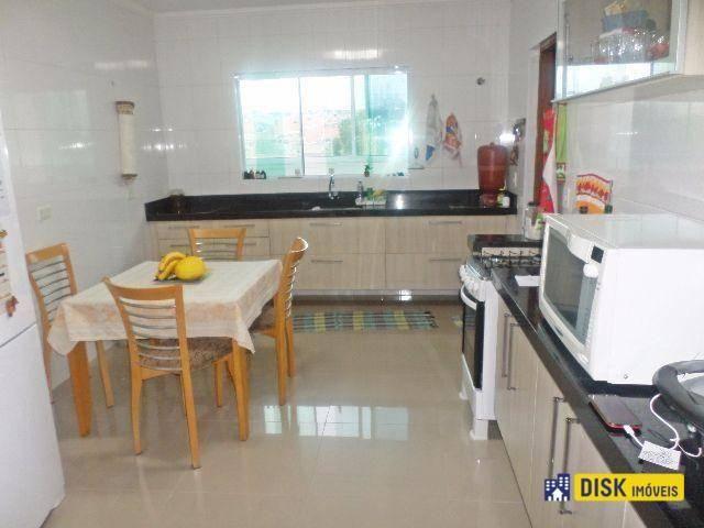 Sobrado com 3 dormitórios à venda, 200 m² por R$ 730.000,00 - Vila Euclides - São Bernardo - Foto 3