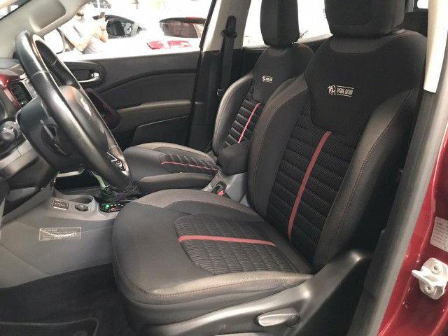 Fiat-Toro freedom 1.8 aut+Gnv Financiamos sem comprovação de renda - Foto 7