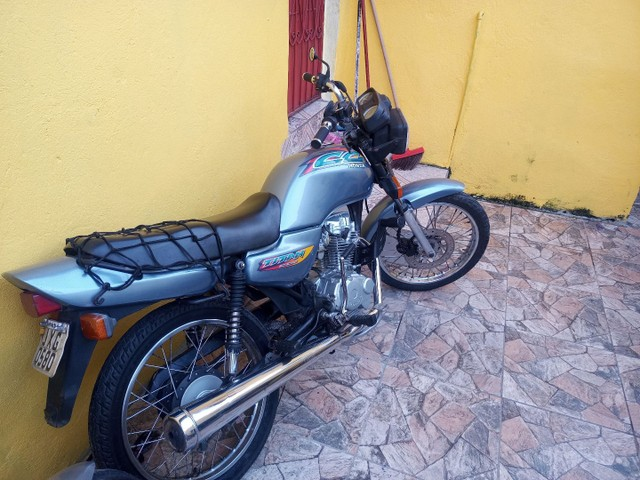 Moto CG 125 em dias com todos os Documentos - Foto 6
