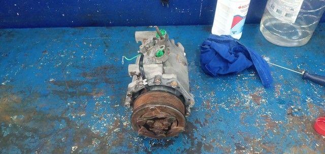 Vendo ou troco em rodao 15 compressor o honda  - Foto 2