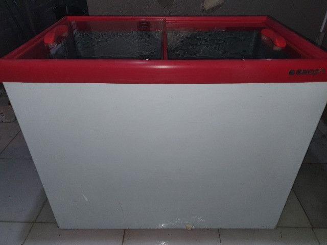 Refrigerador vertical gelopar