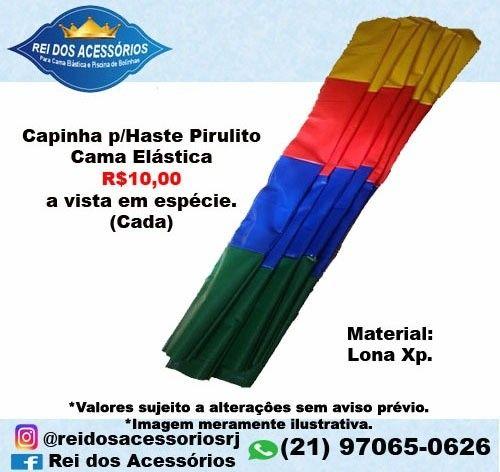 Capinha p/Haste Pirulito Pula pula Cama Elástica