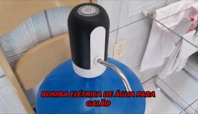 Bomba Elétrica Para Garrafão Galão Água Recarregável - Frete Grátis! - Foto 2