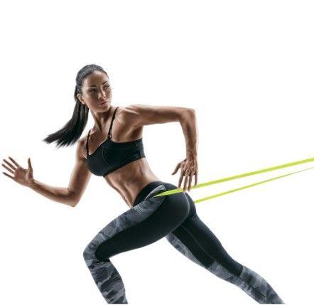 Kit 5 Mini Faixas Elásticas de Resistência Pilates Treino Academia Fisioterapia  (A101) - Foto 3