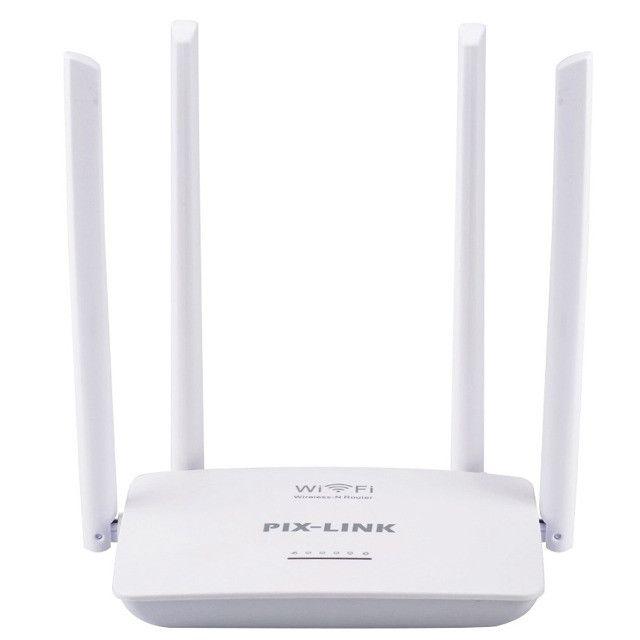 Roteador e repetidor wifi Wireless 300 Mbps(garantia)