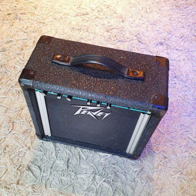 Amplificador para Guitarra Peavey Balser 158 USA - Usado - Somos Loja - Foto 6