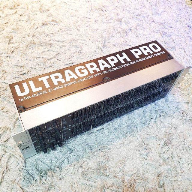 Equalizador behringer Fbq 6200 - Usado - Somos Loja - Foto 2