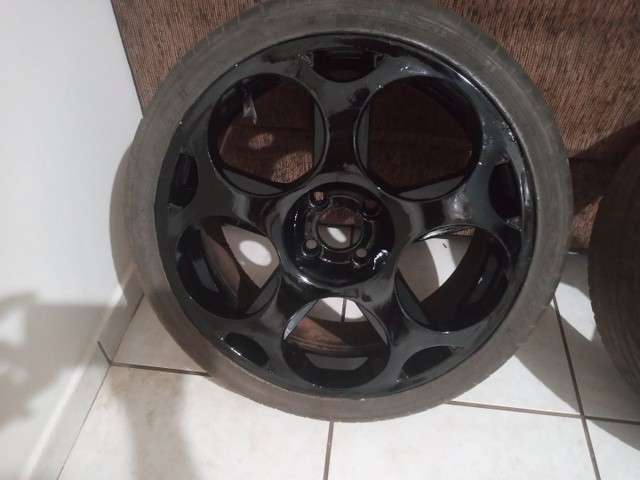 Rodas aro 17 com pneus - Foto 2