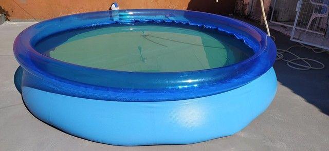 Vendo piscinão inflável - Foto 4
