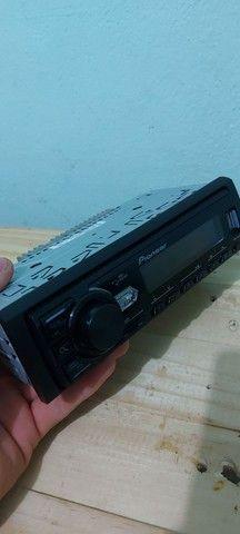 radio pioneer usb cd  radio e auxiliar