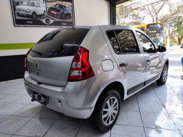 Renault Sandero Expression 1.0 Flex Completo Financia e Troca Excelente Estado - Foto 4