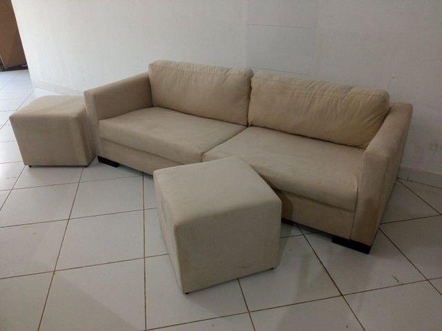 Reforma de sofá/ Fabricação/ Poltrona/ Cabeceira - Foto 6
