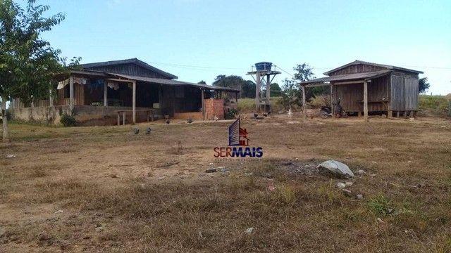 Sítio com 1 dormitório à venda, 493679 m² por R$ 850.000 - Zona Rural - Vale do Anari/RO - Foto 10