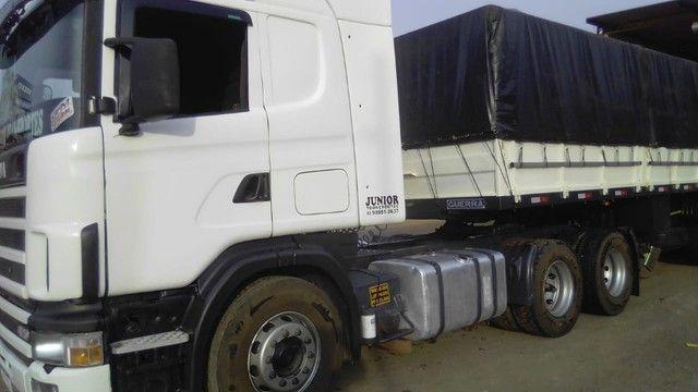 Scania 420 R124 2006 e Carreta Guerra 2001 - Foto 11