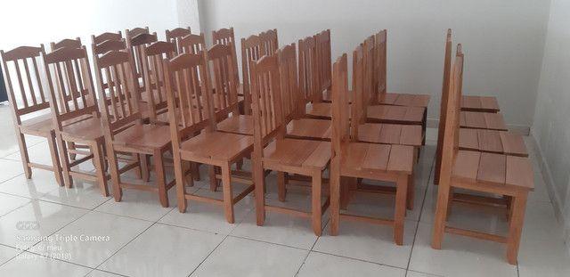 Cadeiras Madeira do Pará  - Foto 3
